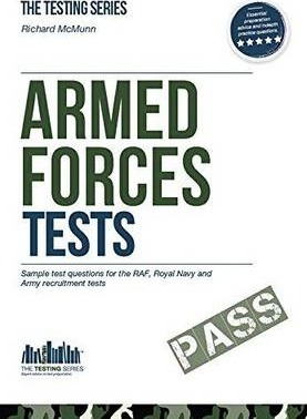 Armed Forces Tests (practice Tests for the Army, RAF and Royal Navy): 1 1 Cover Image