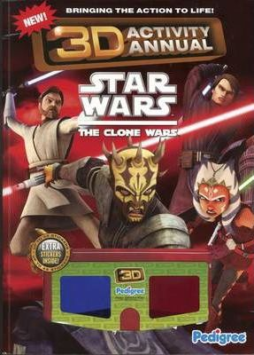 Clone Wars 3D Activity Annual 2011