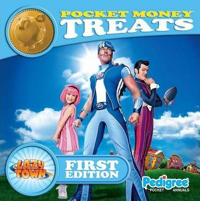 Lazy Town Pocket Money Treats Series 1 2011