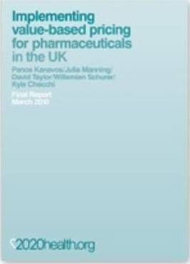Implementing Value-based Pricing for Pharmaceuticals in the UK