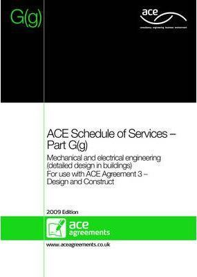 ACE Schedule of Services - Part G(g)