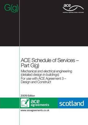 ACE Schedule of Services - Part G(g) (Scotland)