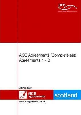 ACE Agreements 1 - 9 Complete Set (Scotland)