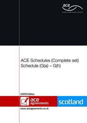 ACE Schedule of Services G(a)-G(h) Complete Set (Scotland)