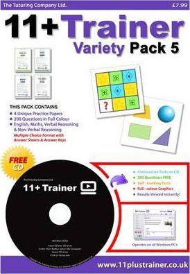 11 Plus Trainer: Variety pack 5, v. 1