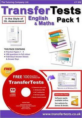 Transfer Tests English and Maths Multiple Choice Format: Transfer Test Northern Ireland Pack 1
