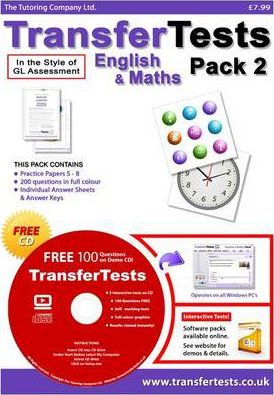 Transfer Tests English and Maths Multiple Choice Format: Transfer Test Northern Ireland Pack 2