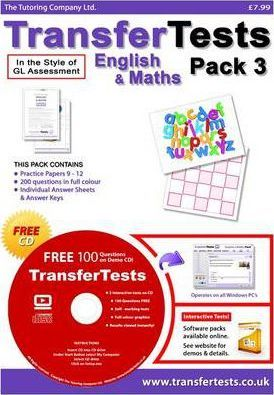 Transfer Tests English and Maths Multiple Choice Format: Transfer Test Northern Ireland Pack 3