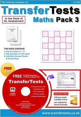 Transfer Tests Maths Multiple Choice Format: Pack 3