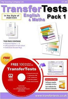 Transfer Tests English and Maths AQE Format: Transfer Test Northern Ireland Pack 1