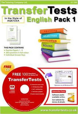 Transfer Tests English AQE Format: Transfer Test Northern Ireland Pack 1