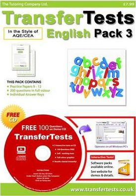 Transfer Tests English AQE Format: Transfer Test Northern Ireland Pack 3