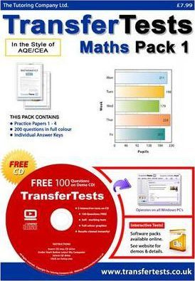 Transfer Tests Maths AQE Format: Transfer Test Northern Ireland Pack 1
