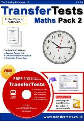 Transfer Tests Maths AQE Format: Transfer Test Northern Ireland Pack 2