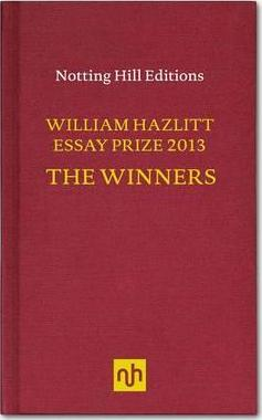 William hazlitt essay prize