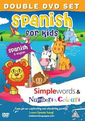 Spanish for Kids DVD Set: Simple Words & Number and Colours 2011