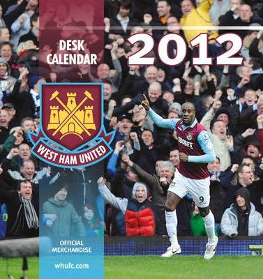 Official West Ham United FC Desk Tent Calendar 2012