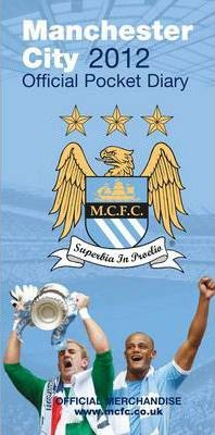 Official Manchester City FC Slim Diary 2012