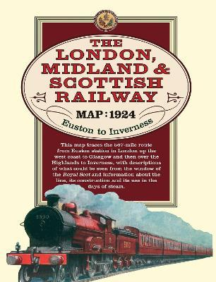 London, Midland & Scottish Railway Map, 1924