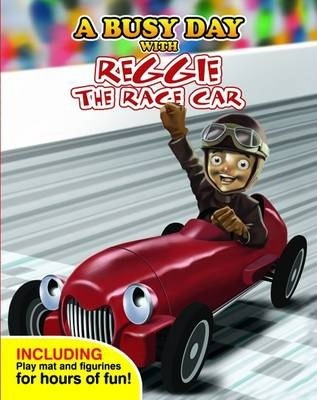 A Busy Day with Reggie the Race Car