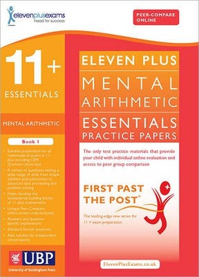 11+ Essentials Mental Arithmetic for CEM: Book 1 : Eleven Plus Exams