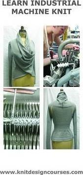 Learn Industrial Machine Knit with Knit-1