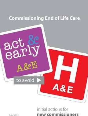 Commissioning End of Life Care