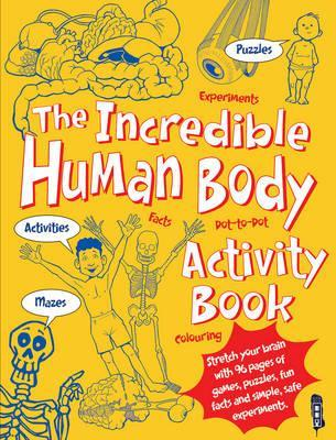 The Incredible Human Body Activity Book Cover Image