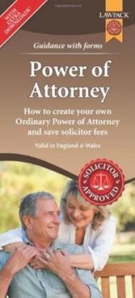 Thebridgelondon-ils.co.uk Power of Attorney Form Pack : How to Create Your Own Ordinary Power of Attorney and Save Solicitor Fees Image