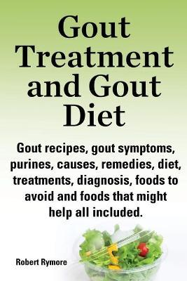 Gout treatment and gout diet. Gout recipes, gout symptoms, purines, causes, remedies, diet, treatments, diagnosis, foods to avoid and foods that might help all included.