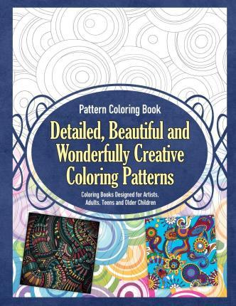 Pattern Coloring Book Detailed, Beautiful and Wonderfully ...