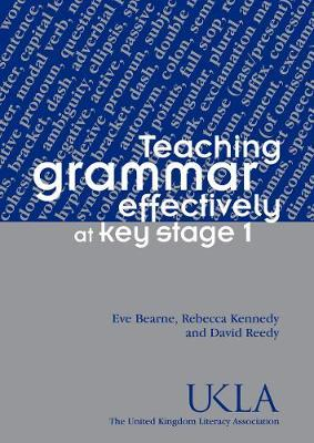 Teaching grammar effectively at Key stage 1