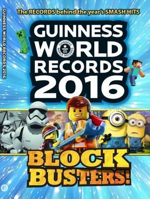 Guinness World Records 2016 Cover Image