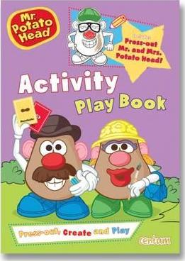 Mr Potato Head Press-Out & Play Activity Book