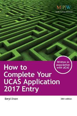 How to Complete Your UCAS Application 2017 Entry Cover Image