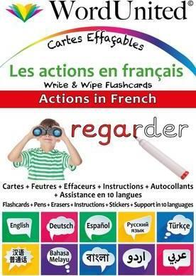 Actions in French