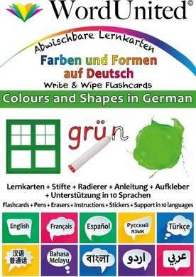 Colours and Shapes in German
