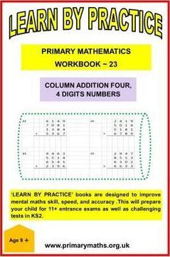 LEARN BY PRACTISE: PRIMARY MATHEMATICS WORKBOOK ~ 23