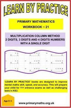 LEARN BY PRACTISE: PRIMARY MATHEMATICS WORKBOOK ~ 21