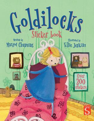 Scribblers Fun Activity Goldilocks & the Three Bears Sticker Book