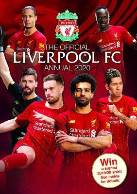 The Official Liverpool FC Annual 2020 Cover Image