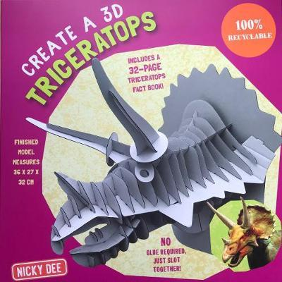 CREATE A 3D TRICERATOPS 2018