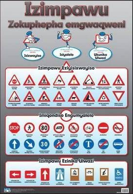 Road safety: Wall chart