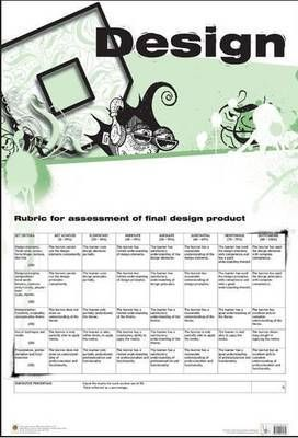 Rubric for assessment of final design product: Wall chart