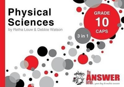 the answer series grade 10 physical sciences 3in1 caps study guide rh bookdepository com Physical Science Workbook Physical Science Workbook