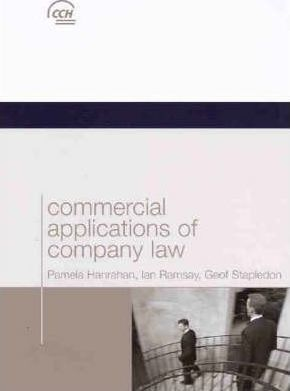 Commercial Applications of Company Law