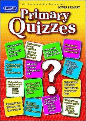 Primary Quizzes Lower (ages 5-7): Lower primary