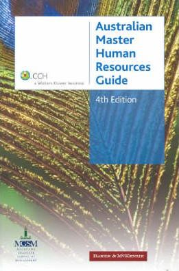 Australian Master Human Resources Guide 2006-07