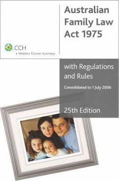 Australian Family Law Act of 1975