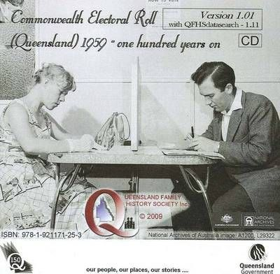 Queensland Commonwealth Electoral Roll 1959 [CD-ROM]